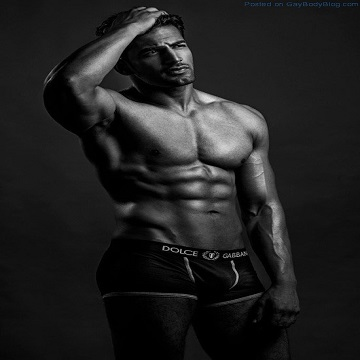 Bollywood Muscle Hunk