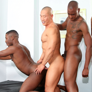 Hung Black Cock Action!