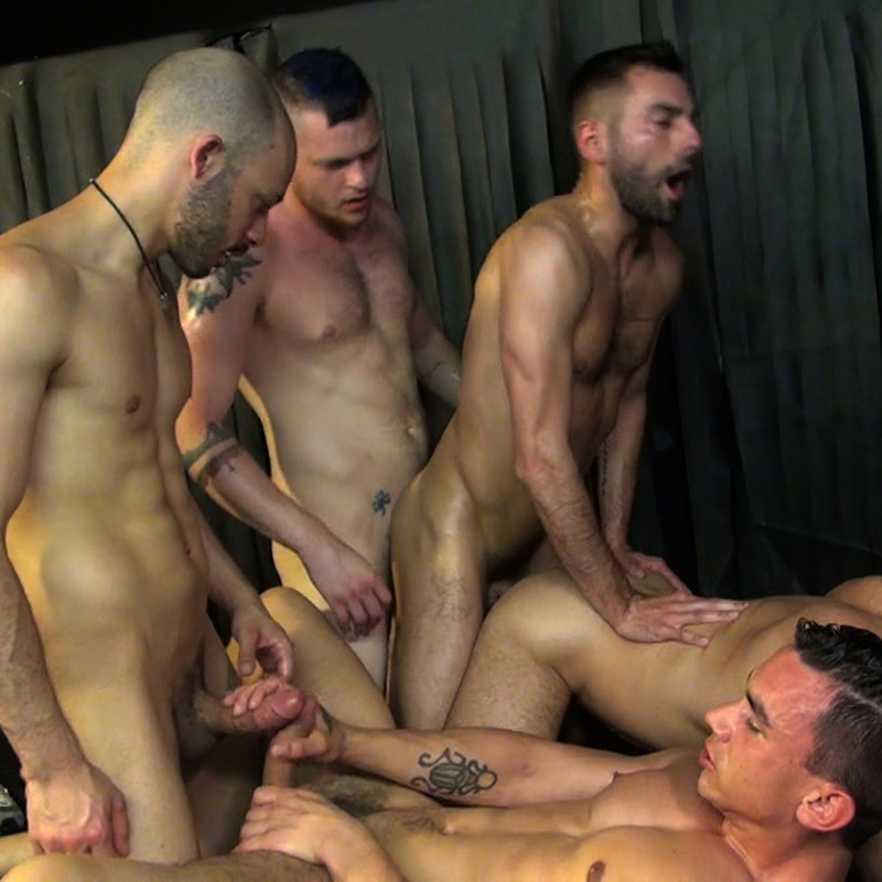Five-Man Gang Bang